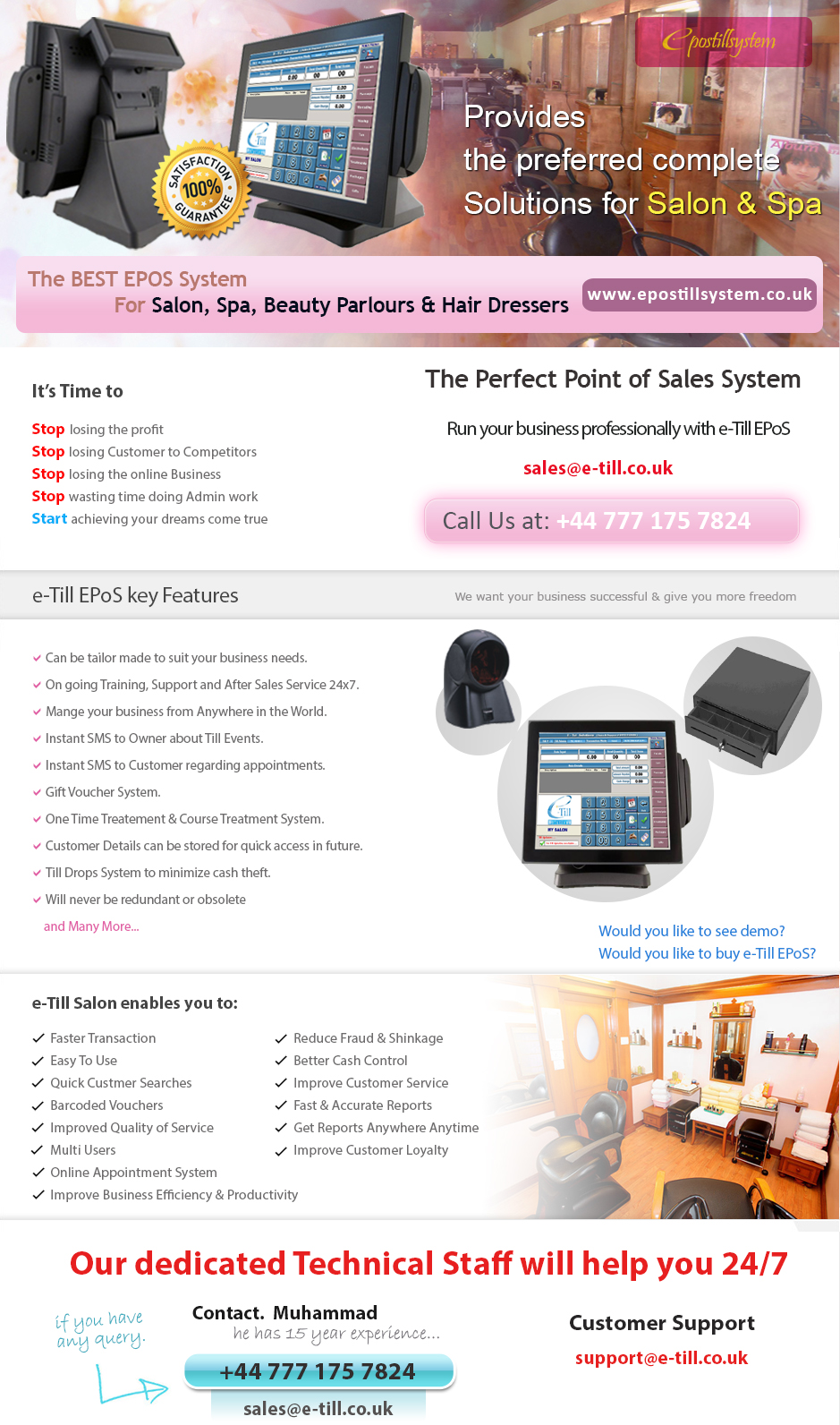 Hair Salon Software Beauty Spa Management System Epos
